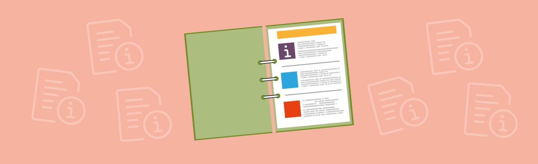 Gästemappe für Ihre Ferienwohnung erstellen mit Muster