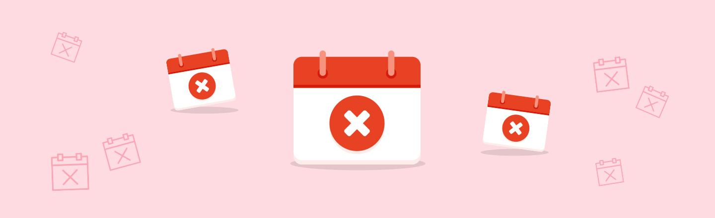 Buchung einer Ferienwohnung stornieren - Stornorechnung für eine Ferienwohnung erstellen mit Muster